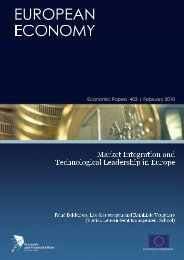 Market Integration and Technological Leadership in Europe: - Lirias