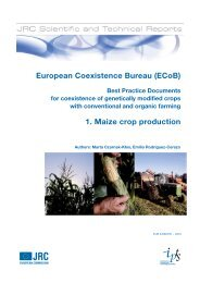 European Coexistence Bureau (ECoB). Best Practice Documents for ...