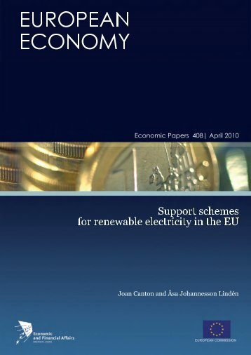 Support schemes for renewable electricity in the EU - European ...
