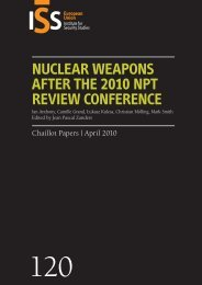 Nuclear weapons after the 2010 NPT Review Conference