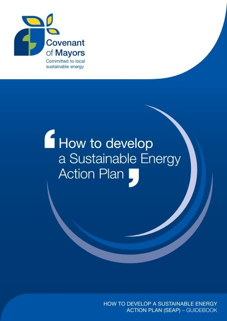 how to develop a sustainable energy action plan (seap)