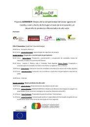 Projecto AGRINNDIF: Mejora de la competitividad del sector agrario ...