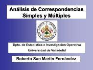 Análisis de Correspondencias - ESA
