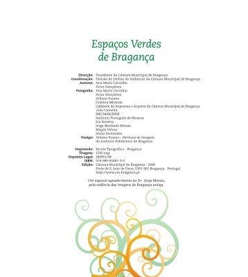 Espaços Verdes de Bragança - ESA - Escola Superior Agrária ...