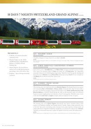 10 days 7 nights switzerland grand alpine (eu10sp) - Chan Brothers