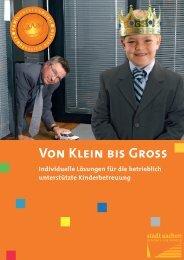 Von Klein bis Gross - Stadt Aachen