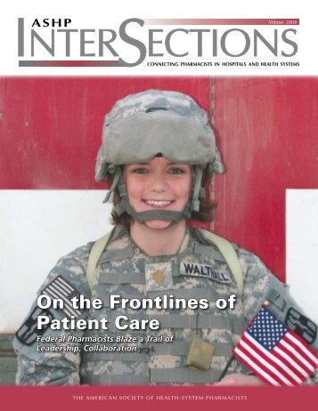 On the Frontlines of Patient Care - American Society of Health ...