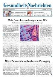 Speichern - Biermann Medien Gruppe für Medizin