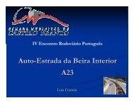 Auto-Estrada da Beira Interior A23 - CRP