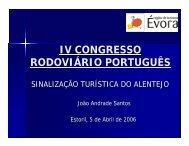 IV CONGRESSO RODOVIÁRIO PORTUGUÊS - CRP
