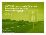 Via Verde – um exemplo Português de criatividade e ... - CRP