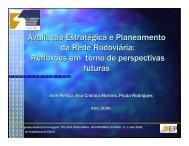 Avaliação Estratégica e Planeamento da Rede Rodoviária ... - CRP