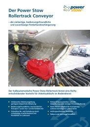Der Power Stow Rollertrack Conveyor
