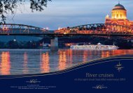 River cruises - Gollcher Group
