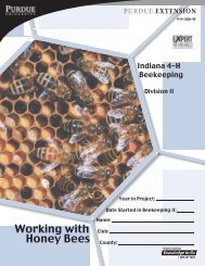 Manual II: Working with Honey Bees - Purdue Extension Entomology ...
