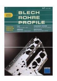 BLECH ROHRE PROFILE JUNI 2007
