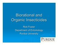 Biorational and Organic Insecticides - Purdue Extension Entomology ...