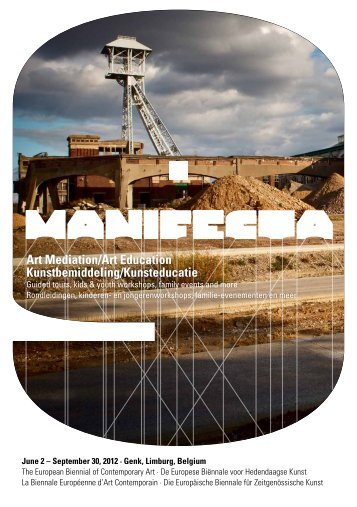 Download educatie brochure PDF - Manifesta