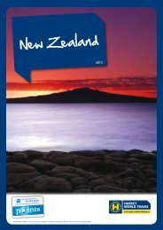 New Zealand - Harvey World Travel