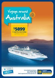 Australia - Harvey World Travel