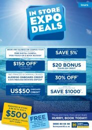FREE US$50 - Harvey World Travel