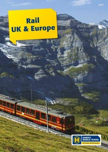 Rail UK & Europe - Harvey World Travel