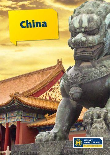 China - Harvey World Travel