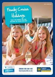 Family Cruise Holidays - Harvey World Travel