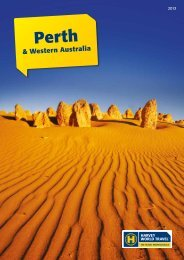 & Western Australia - Harvey World Travel