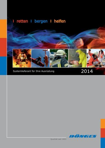 Der neue Katalog 2014 als PDF - Dönges