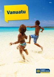 Vanuatu - Harvey World Travel