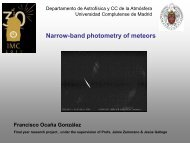 Narrow-band photometry of meteors