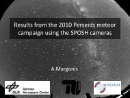 Results from the 2010 Perseids Campaign using the SPOSH Camera