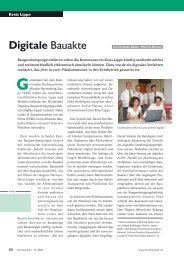 Digitale Bauakte - K21 media AG