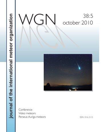 Untitled - International Meteor Organization