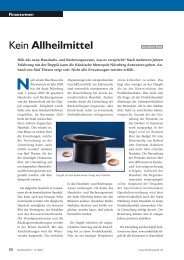 Kein Allheilmittel - K21 media AG