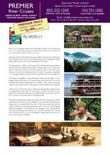 Pandaw River Cruises, Padaw cruises to Borneo, Vietnam, Burma ...