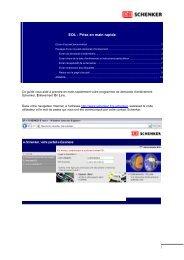 EOL : Prise en main rapide - Schenker