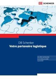 DB Schenker Votre partenaire logistique