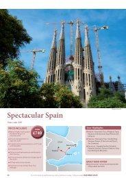 Spectacular Spain - Star Tours