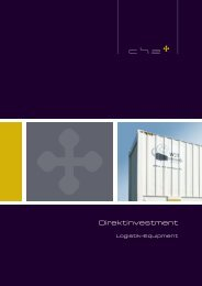 Direktinvestment - CH2 AG