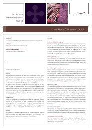 Produktinformationsblatt - CH2 AG