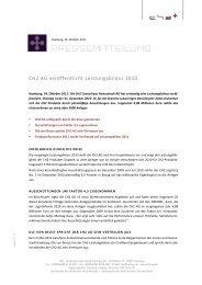 Die Pressemitteilung als PDF-Dokument zum Download - CH2 AG