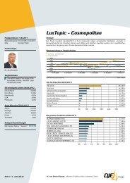 LuxTopic - Cosmopolitan - Finanz
