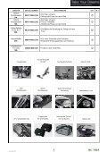 Page 1 ZUBEHÖR ARTIKEL NUMMER 2012 F.R.T NC 700X ... - Seite 3
