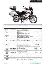 1 XL 1000 ''VARADERO'' - Honda