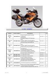 XL 1000V ''VARADERO'' - Honda