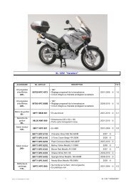 XL 125V ''Varadero'' - Honda