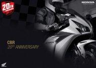 CBR 20TH ANNIVERSARY - Honda