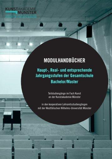 Modulhandbuch Lehramt an Haupt-, Real - Kunstakademie Münster